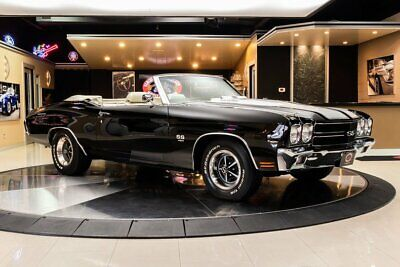 1970 Chevrolet Chevelle Convertible SS 454 LS6 Recreation Frame Off Restored! LS6 454ci V8, Muncie 4-Speed Manual, Posi, PS, PB, Pwr Top!