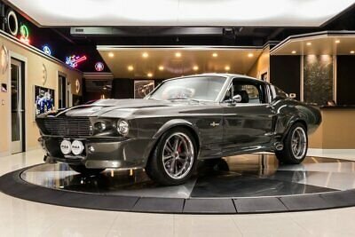 1967 Ford Mustang Fastback Eleanor Rotisserie Build! 428ci Cobra Jet V8 w/ EFI (550hp) Automatic, PS, Wilwood, A/C