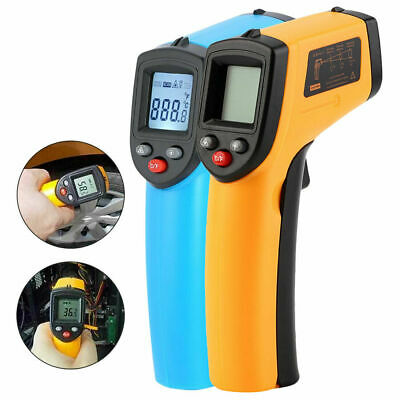 Thermometer Digital Infrared Non-Contact Forehead Colorful LCD Gun Laser IR Body