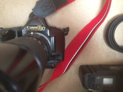 Canon T90 AndT70 Cameras And Accessories