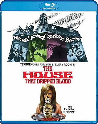 House That Dripped Blood , Uncut ,  Blu-Ray , Shout Factory , Region A