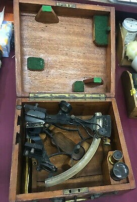 Ships Sextant Hezzanith Heath & Co London Marine