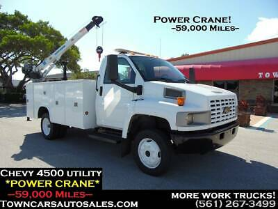 Chevy 4500 Tool Utility body *CRANE Truck* MECHANIC SERVICE TRUCK