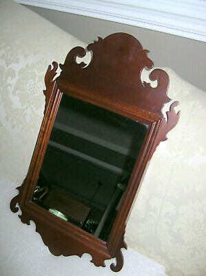 Colonial Williamsburg Virginia Metalcrafters Ap 104 Chippendale Mirror