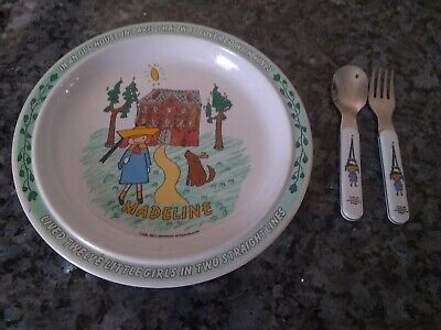 Madeline Plate & Fork & Spoon