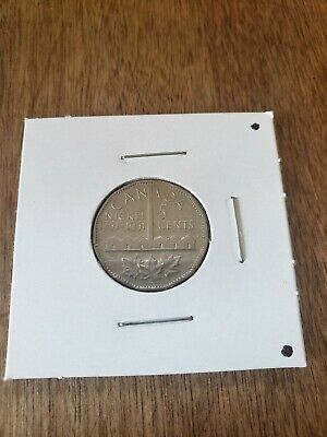 Canada 1951 Commemorative 5 Cents George VI Canadian Nickel