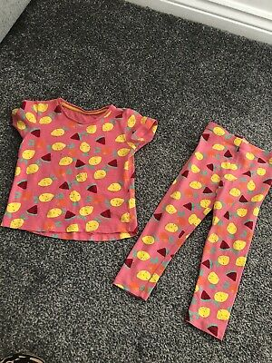 Matalan Top And Leggins Age 2-3