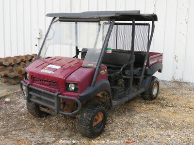 2015 Kawasaki 4010 TRANS 4WD Industrial Equipment Cart Diesel -Parts/Repair