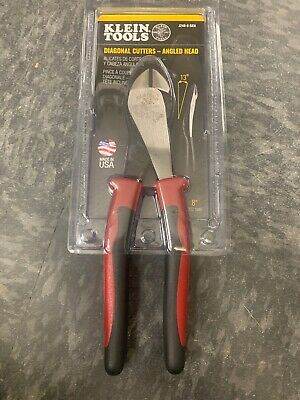 Klein Tools High-Leverage Diagonal-Cutting Pliers - Angled Head (J248-8-SEN)