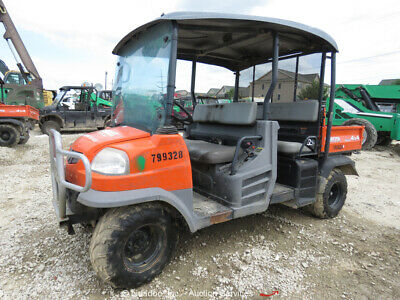 2015 Kubota RTV1140CPXH 4WD Side By Side ATV UTV Diesel Cart Dump -Parts/Repair