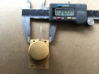 Vintage Brass Clock Platform Escapement
