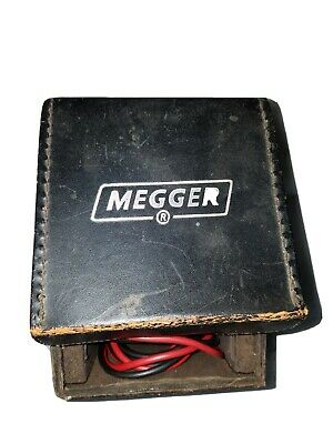 Vintage Meggar Insulation Tester Biddle Instruments