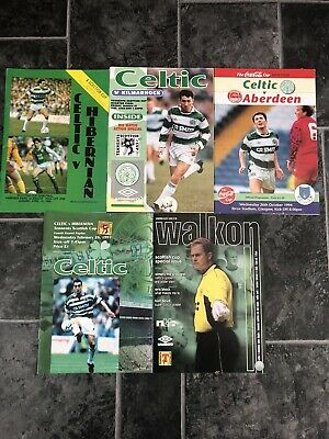 5 Celtic Domestic Cup Programmes