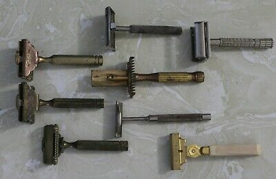 Lot Of ( 8 ) As Found Saftey Razors