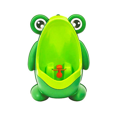 Frog Pee Training, Cute Potty Training Urinal for Boys with Funny Aiming Target