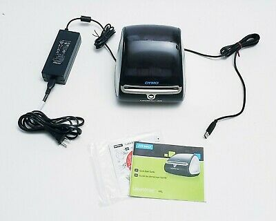 Dymo LabelWriter 4XL Label Printer with Original Software and Instructions