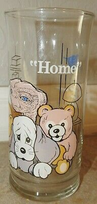 "1982 Pizza Hut Limited Edition ET The Extra Terrestrial Glass ""HOME"" EUC"