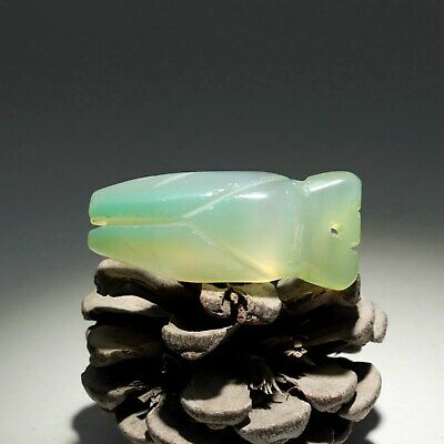 Collectable China Old Jade Hand-Carved Cicada Delicate Noble Decorate Pendant