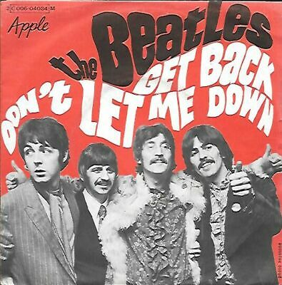 45 Tours  The Beatles  ** Get Back