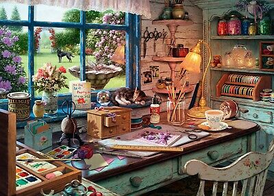 Ravensburger - 1000 PIECE JIGSAW PUZZLE - The Craft Shed My Haven No 1