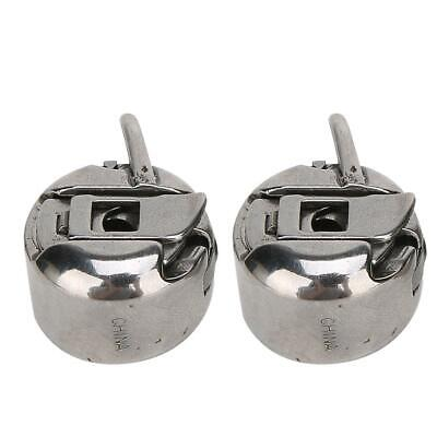 2 Pcs Metal Reverse Bobbin Case Household Sewing Machine Accessories for Singer
