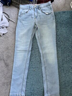 Primark Girls Light Blue Jeans Age 12-13yrs