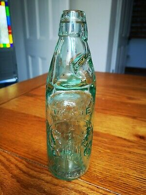 Newcastle District Pictorial Codd Bottle