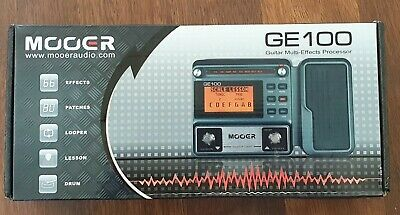MOOER GE100 Pro Guitar Multi-effects Processor Effect Pedal With Loop Recording