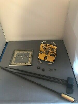 Vintage Full Westminster Chime Granddaughter Clock Movement Working