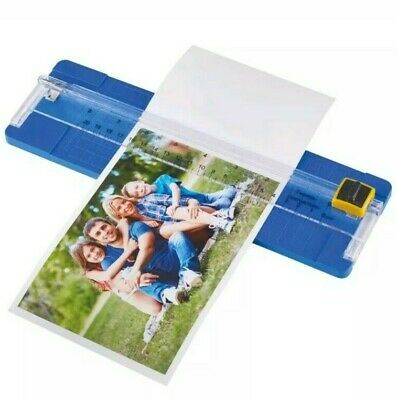 A5 A4 Photo Paper Cutter Trimmer Guillotine Card Magnetic Ruler Home Office AA