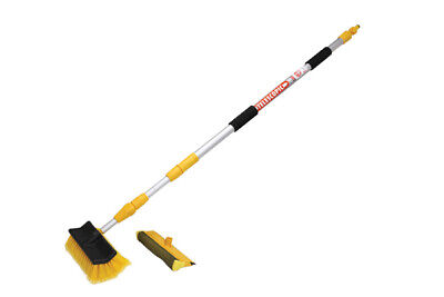 Quest Wash Brush. 3M Extending Deluxe Wash Brush with Squeegee Attachment