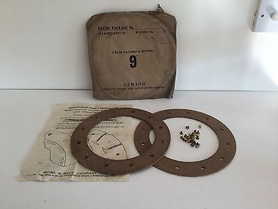 A.C. (Acedes), Wolseley, 1930s, Clutch Linings, NOS