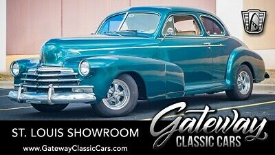 1947 Chevrolet Stylemaster  Teal Green 1947 Chevrolet Stylemaster Coupe 350 CID Tuned Port Injection V8 Auto