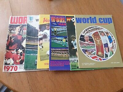 Collection Of World Cup Handbooks/Magazines