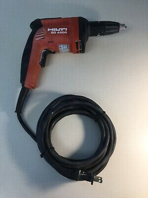 "Hilti Sd4500 1/4"" Wood + Drywall Screwdriver Used - 8/10 Great Condition!"