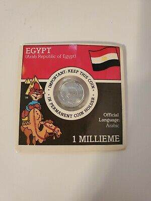 vintage POST SUGAR CRISP Cereal Premium Collectible Coin EGYPT