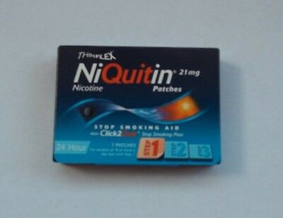 NIQUITIN Thinflex 21mg Patch - Step 1 X 7 Patches