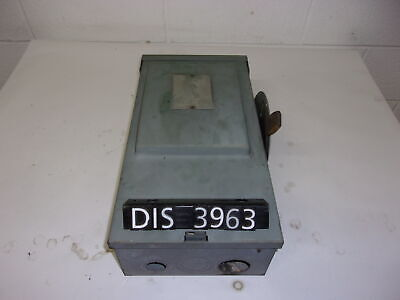WESTINGHOUSE DISCONNECT 600 Volt 30 Amp FUSED (DIS3963)