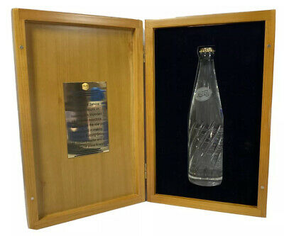 PBG Pepsi Bottling Group 30 Years Service Bottle And Wooden Box Rare