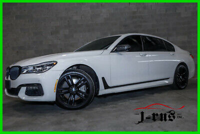 2017 BMW 7-Series CLEAR TITLE M Sport PKG, Comfort Access, 360 Cam, XDrive 2017 750i xDrive M Sport Turbo 4.4L V8 32V Automatic AWD Sedan Premium