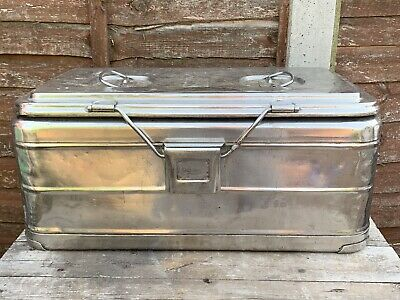 Vintage Heavy Duty Stailess Steel Thermal Food Container, Calorinox - Used