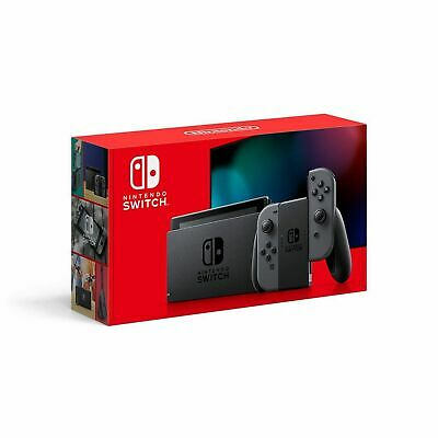 Nintendo Switch w/ Gray Joy‑Con! NEW VERSION! FREE PRIORITY SHIPPING! SHIPS NOW!