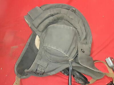 Iraqi Tanker SOFT Helmet 4 BAND SUMMER USE with Cable Cord   51f5