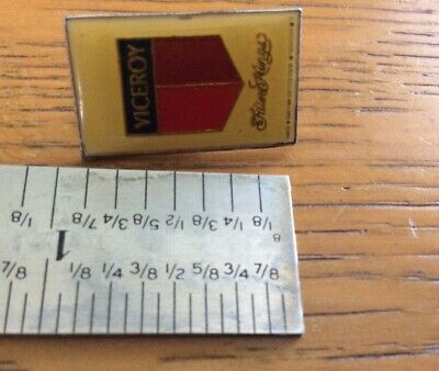 Vintage ADVERTISING  pin back VICEROY cigarettes filter Kings Tobacco