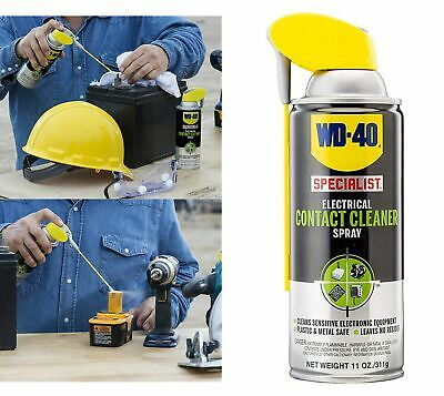 WD 40 Specialist Electrical Contact Cleaner Spray Connector Cleaning Electronic