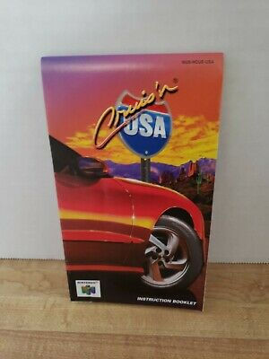 Crusin Usa N64 Manual