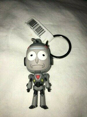 Rick and Morty Series 1 3D Figural Keychain Mystery Pack NEW 4 Pack Random