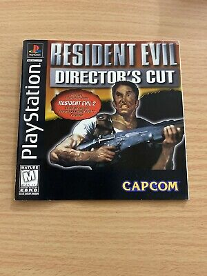 Please Read Only Manual Resident Evil Director's Cut (PlayStation) PS1 BL