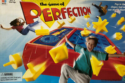 Vintage 1998 The Game Of perfection! All Pieces Working Game And Box