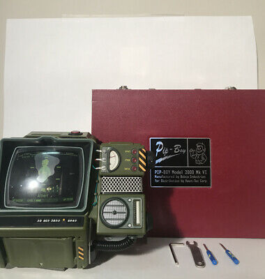 Fallout 76 Pip Boy 2000 MK VI Construction Kit Collector's Edition Pre-Assembled